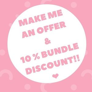 Make me a bundle of 3 items for 10% discount💕